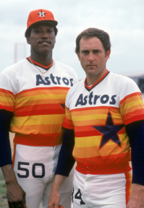 Not even JR Richard and Nolan Ryan could quite pull this off...
