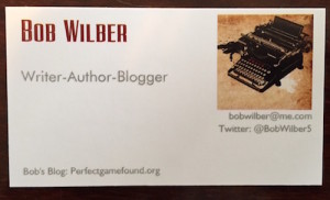The new business card