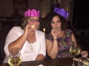 Barbara and Leigh get into the Christmas spirit!