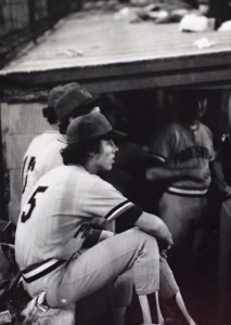 Old number 5, when I was young number 5, in the Appalachian League