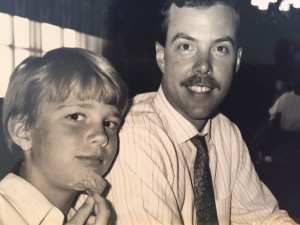 The question is: How old is Ewan in this photo? And were the refried beans good?